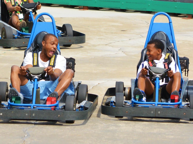 Commander Go-Kart Track at Fun Spot America in Orlando