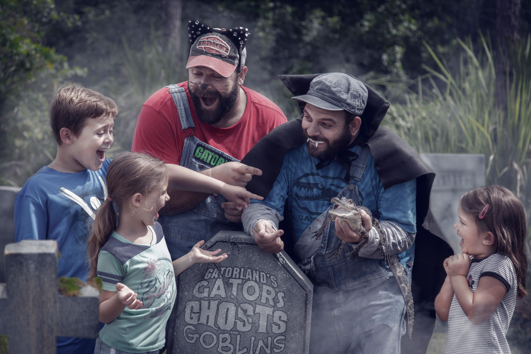 Gators, Ghosts and Goblins at Gatorland in Orlando