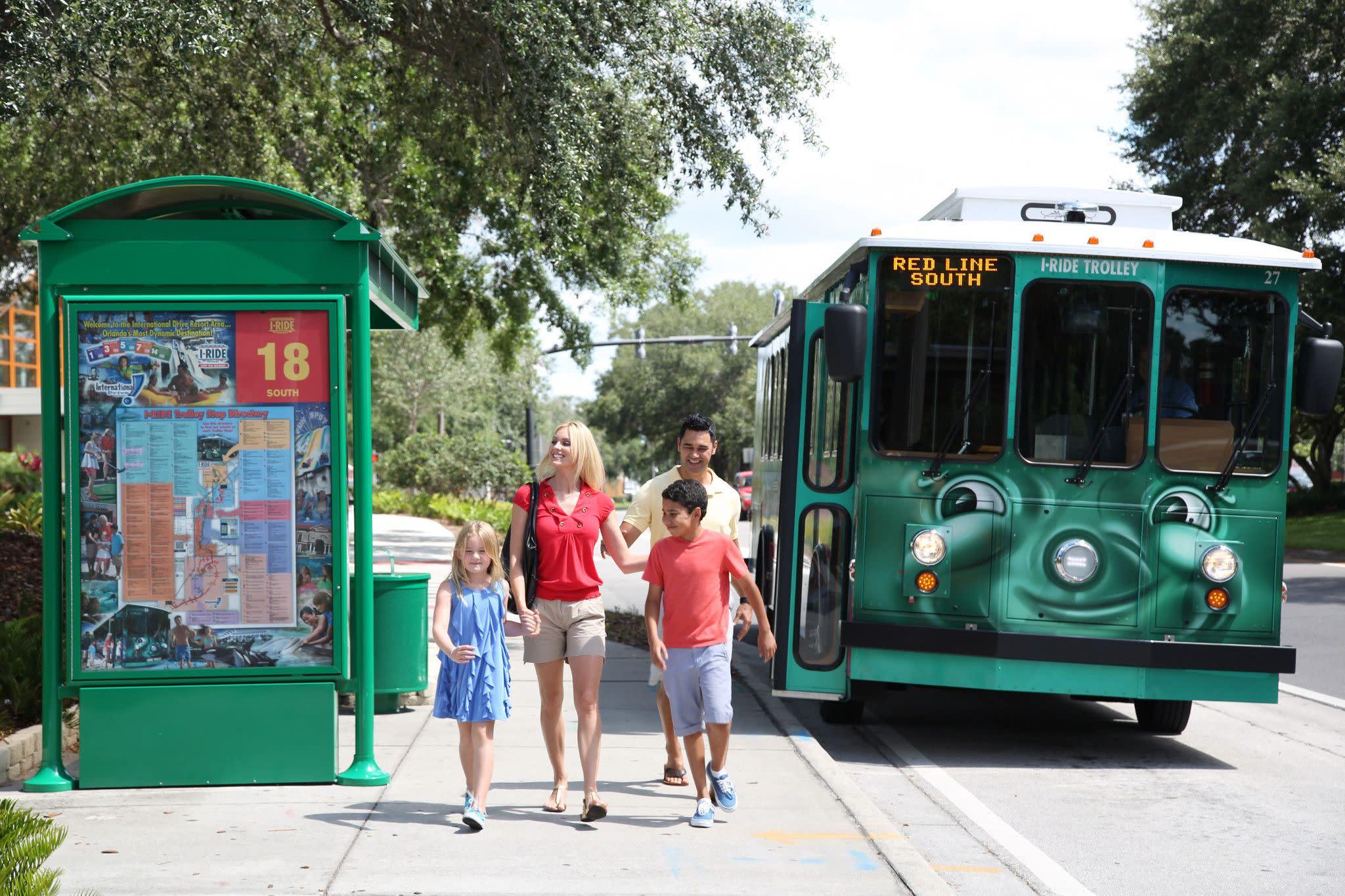 I-Ride Trolley in Orlando