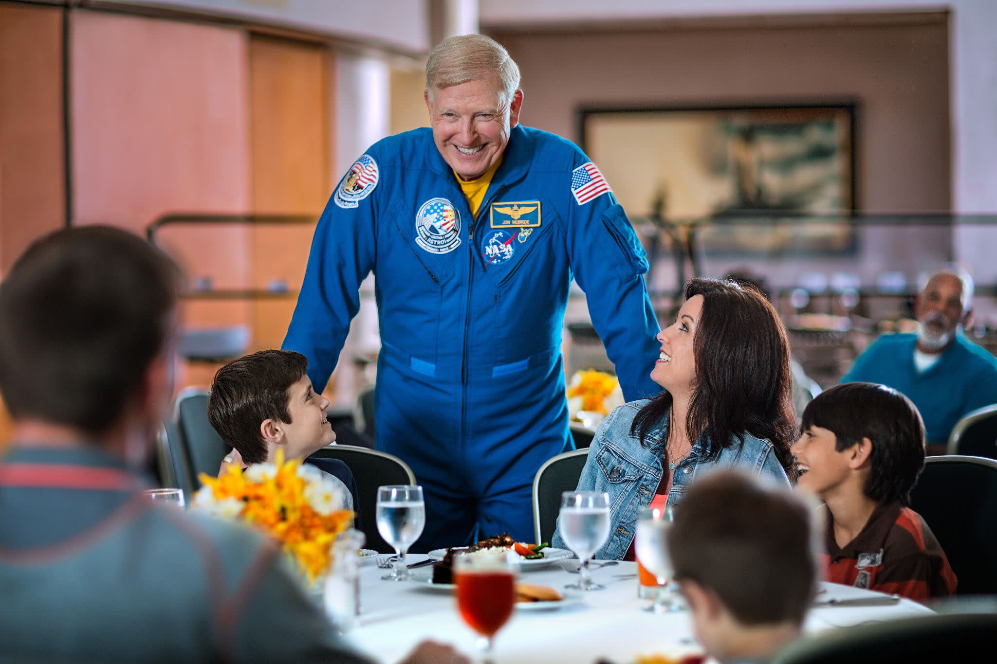 Dine With an Astronaut at Kennedy Space Center Visitor Complex Near Orlando