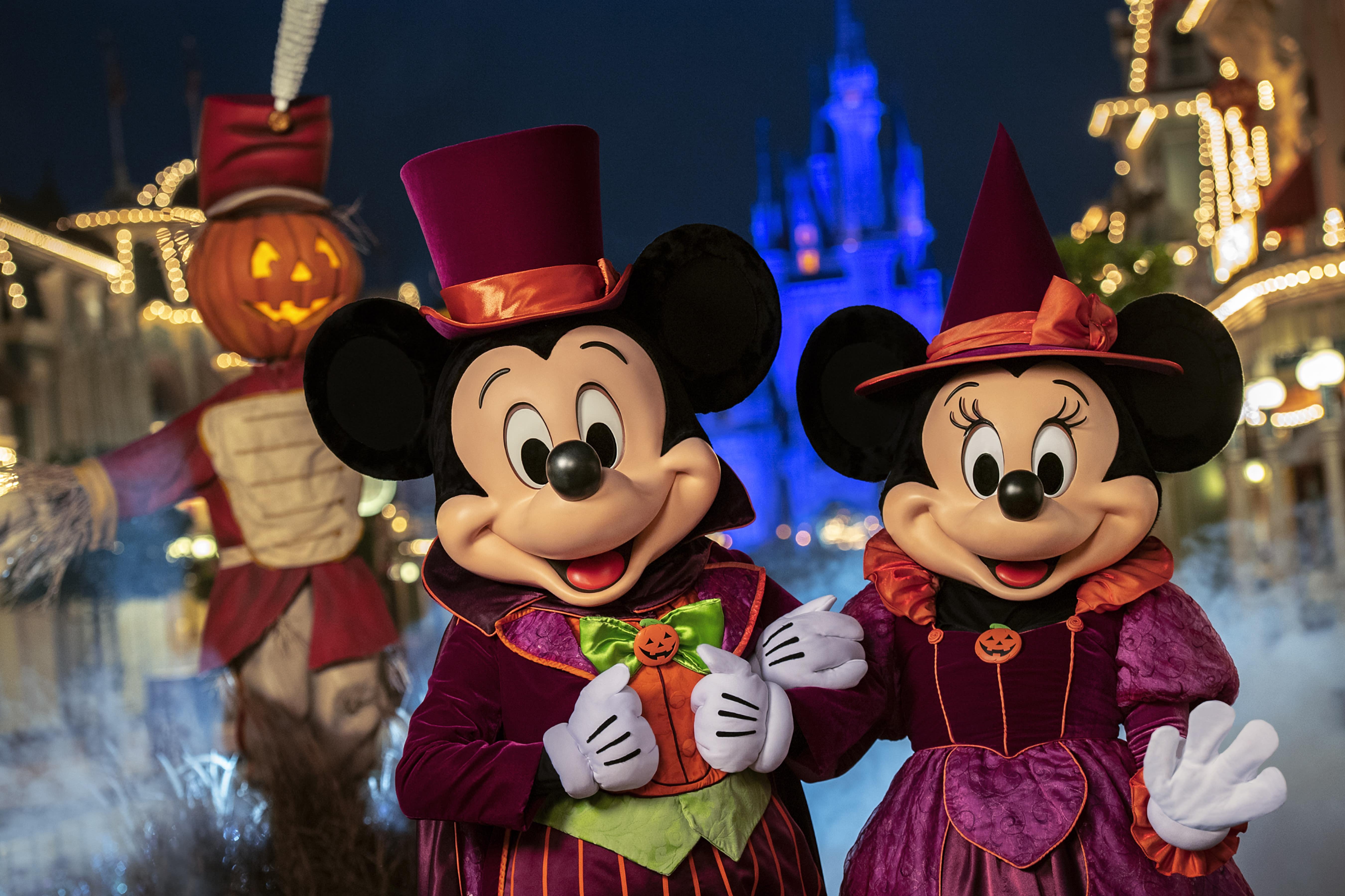 Mickey's Not-So-Scary Halloween Party at Magic Kingdom Park at Walt Disney World Resort in Orlando