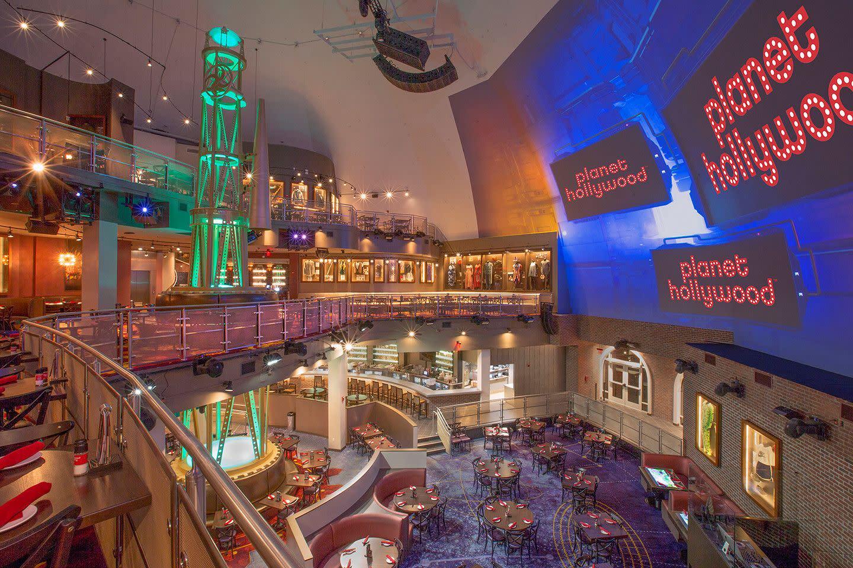 Planet Hollywood at Disney Springs in Orlando