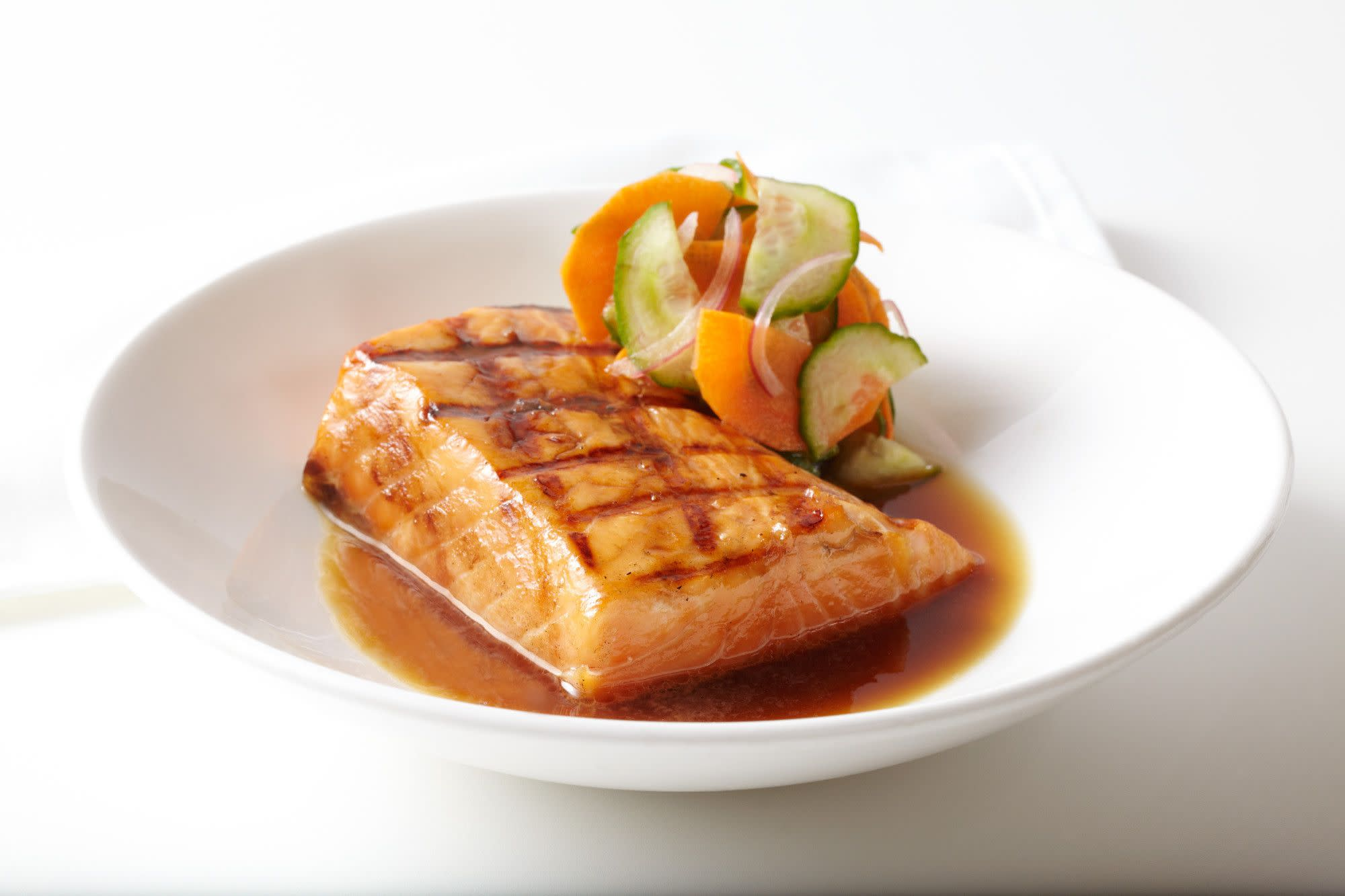 Hibachi-Grilled Atlantic Salmon at Roy's Restaurant in Orlando