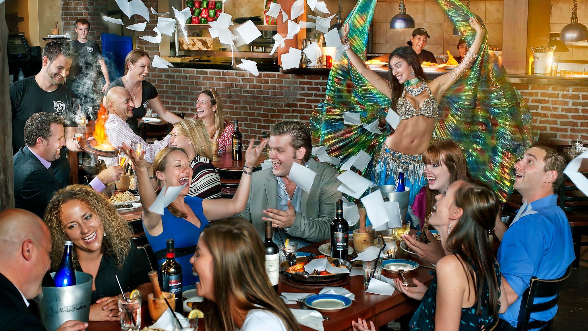 Taverna Opa at Pointe Orlando