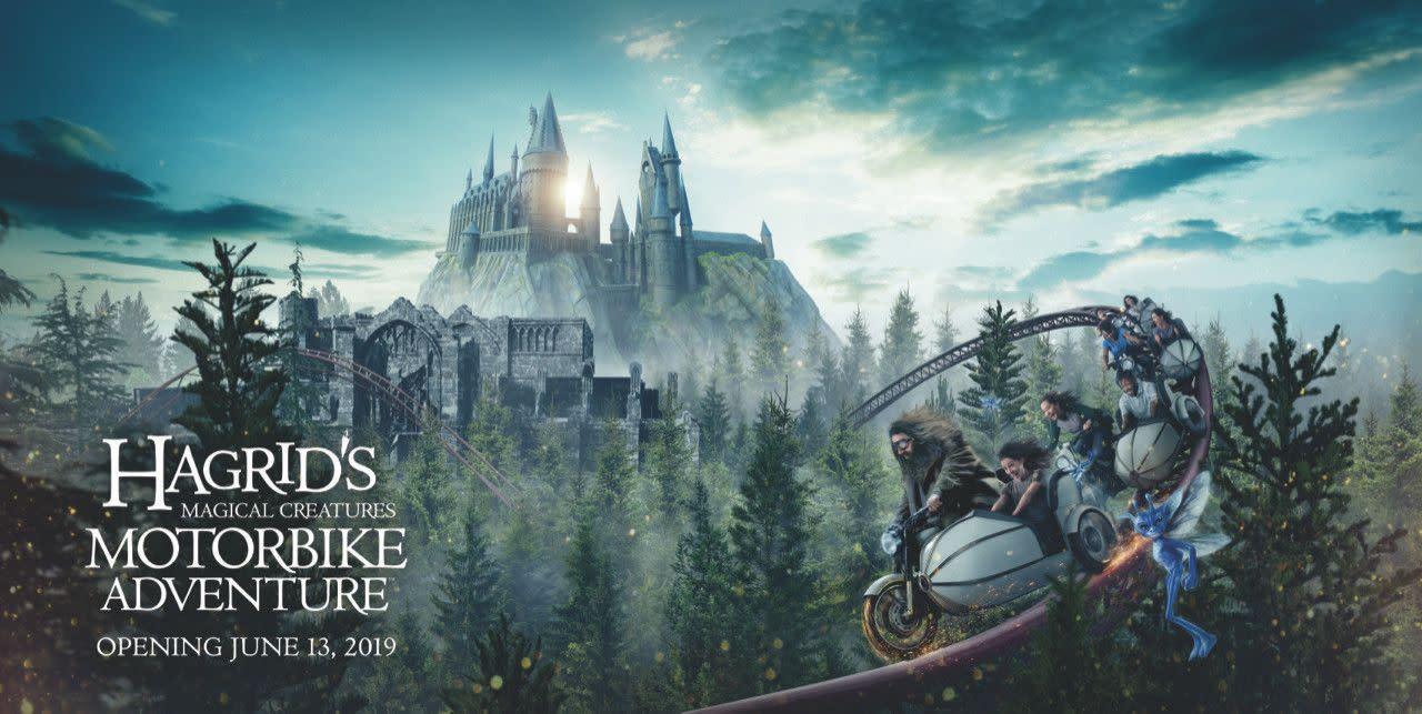 Hagrid's Magical Creatures Motorbike Adventure at Universal's Islands of Adventure in Orlando