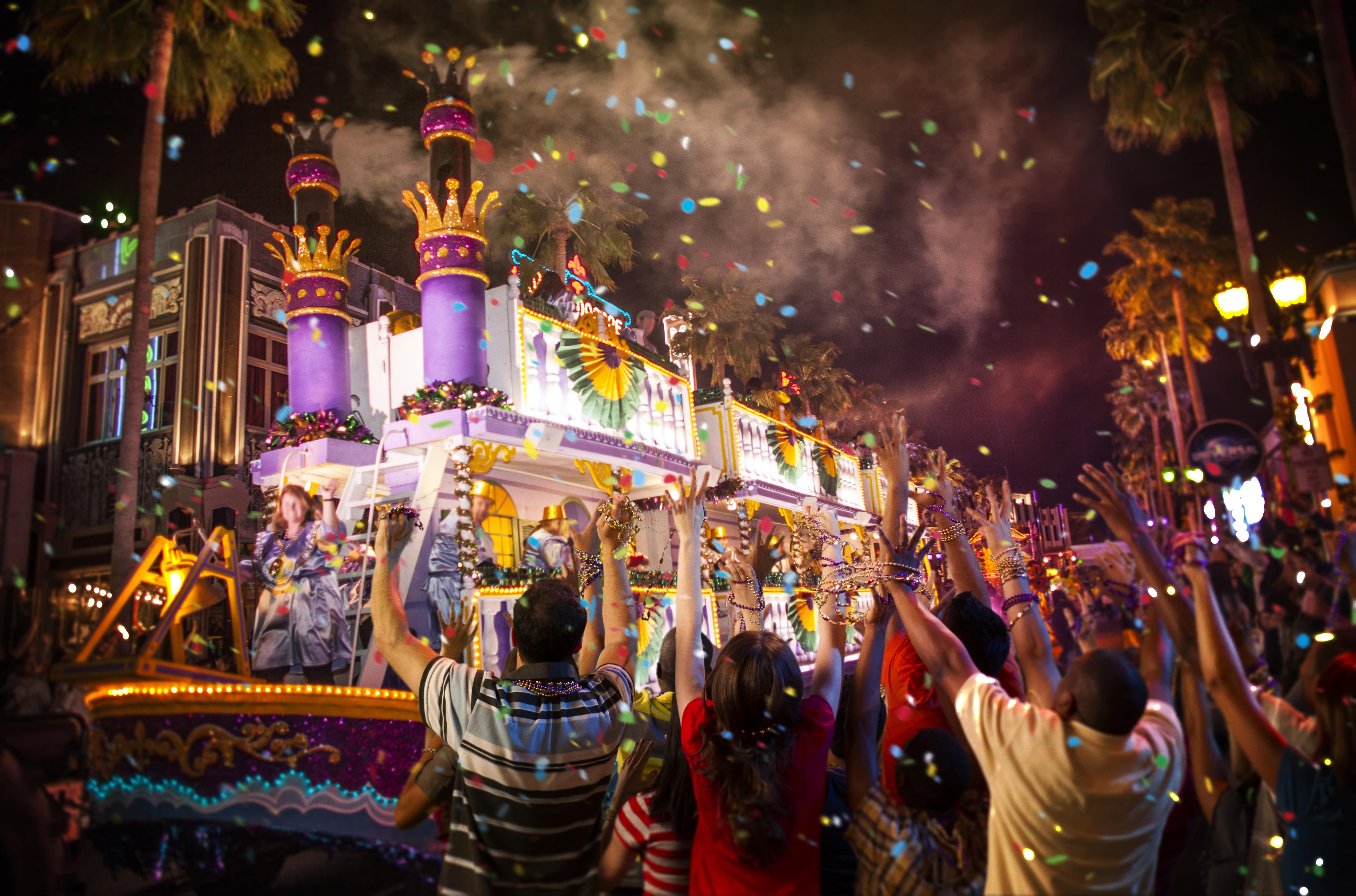 Mardi Gras at Universal Orlando Resort