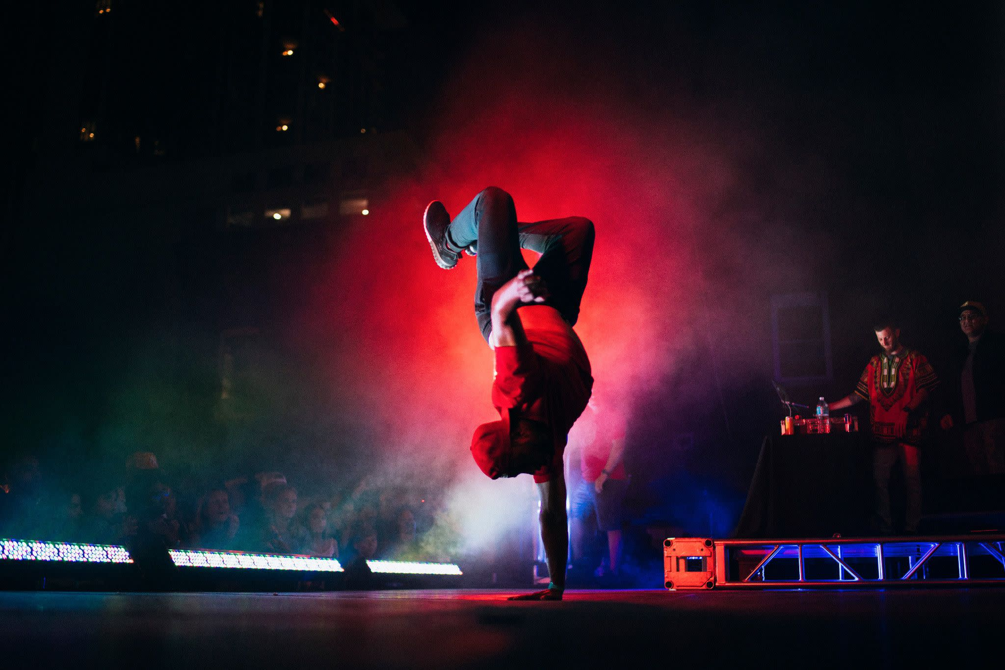 Red Bull B Boys Dancers at IMMERSE in Orlando