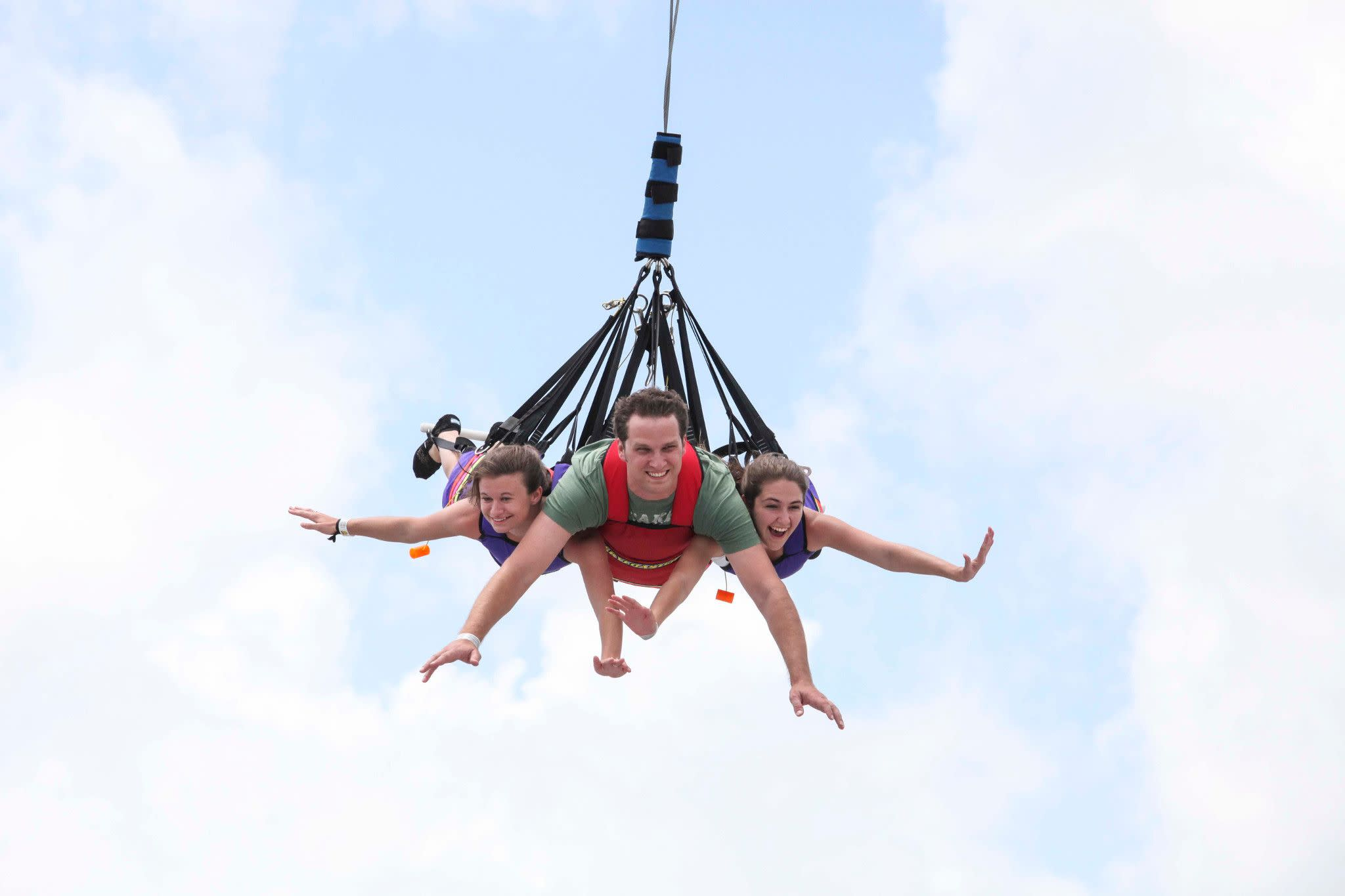 SkyCoaster at Fun Spot America in Orlando