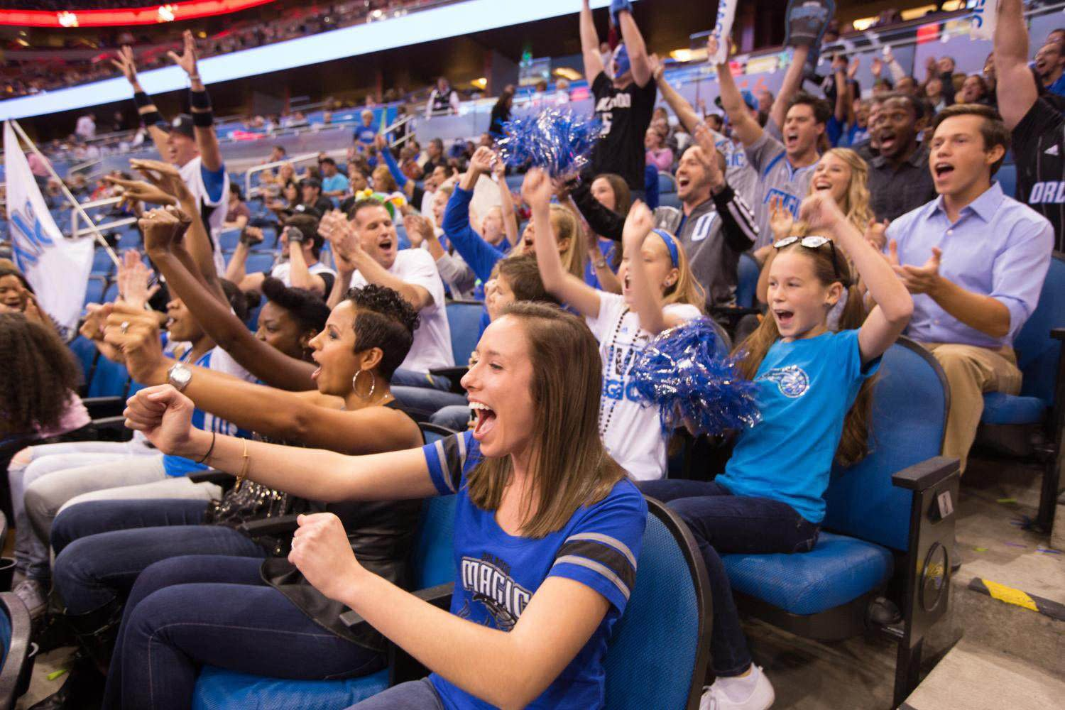 Catch Orlando Magic Games at Downtown Orlando's Amway Center