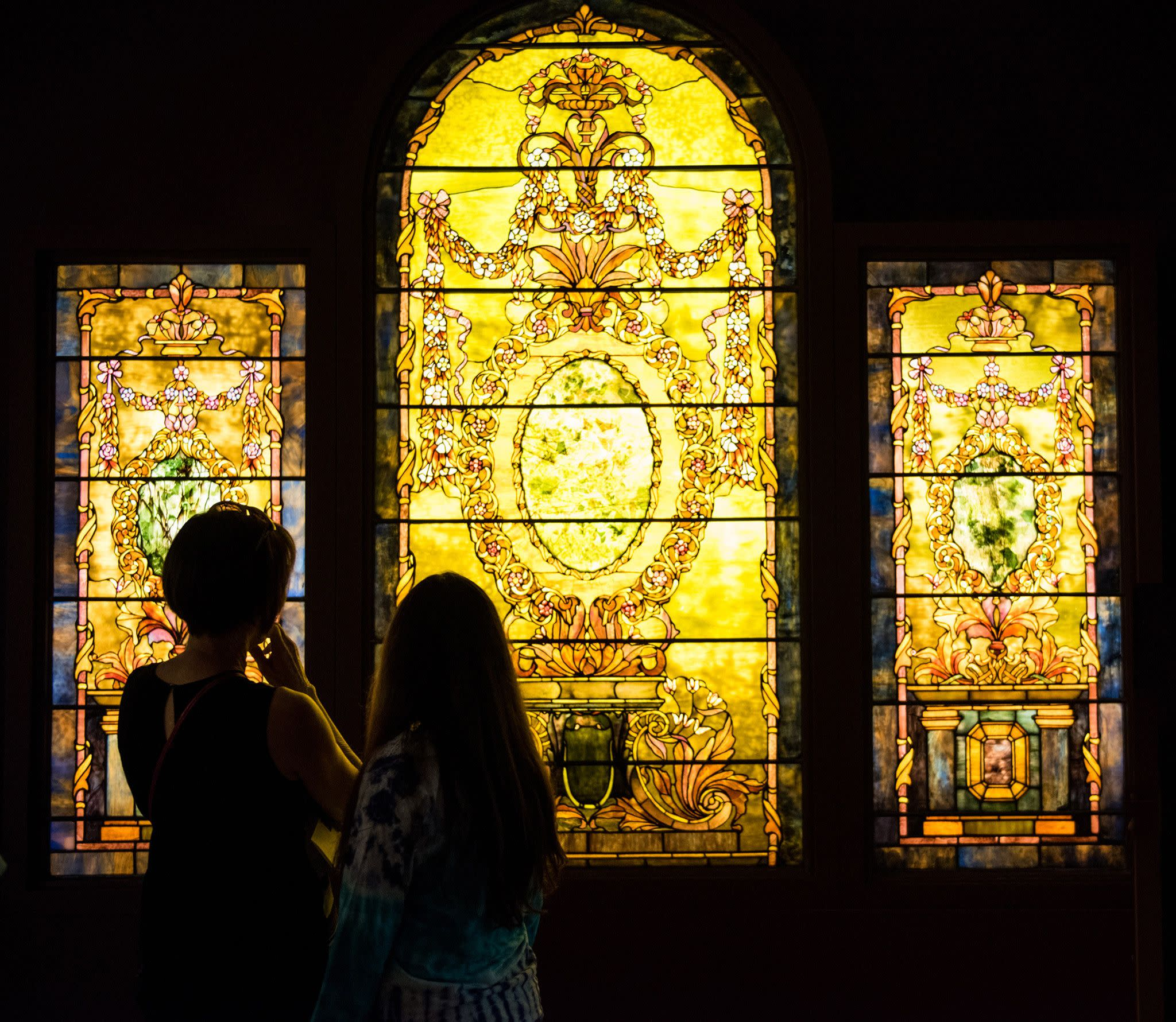 The Charles Hosmer Morse Museum of American Art in Winter Park