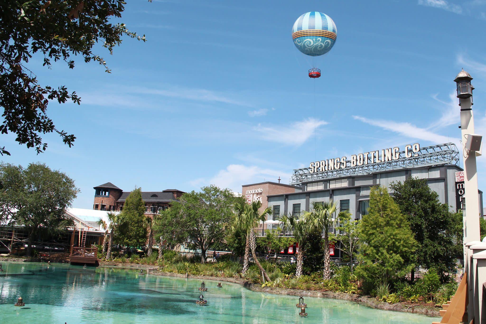 Aerophile Balloon at Disney Springs in Orlando