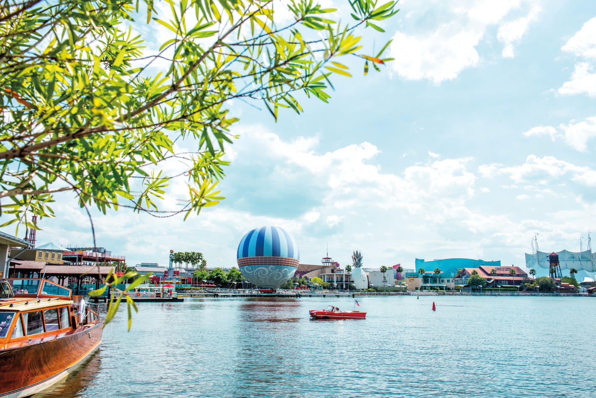 Enjoy Amphicar and Venezia Tours at Disney Springs in Orlando