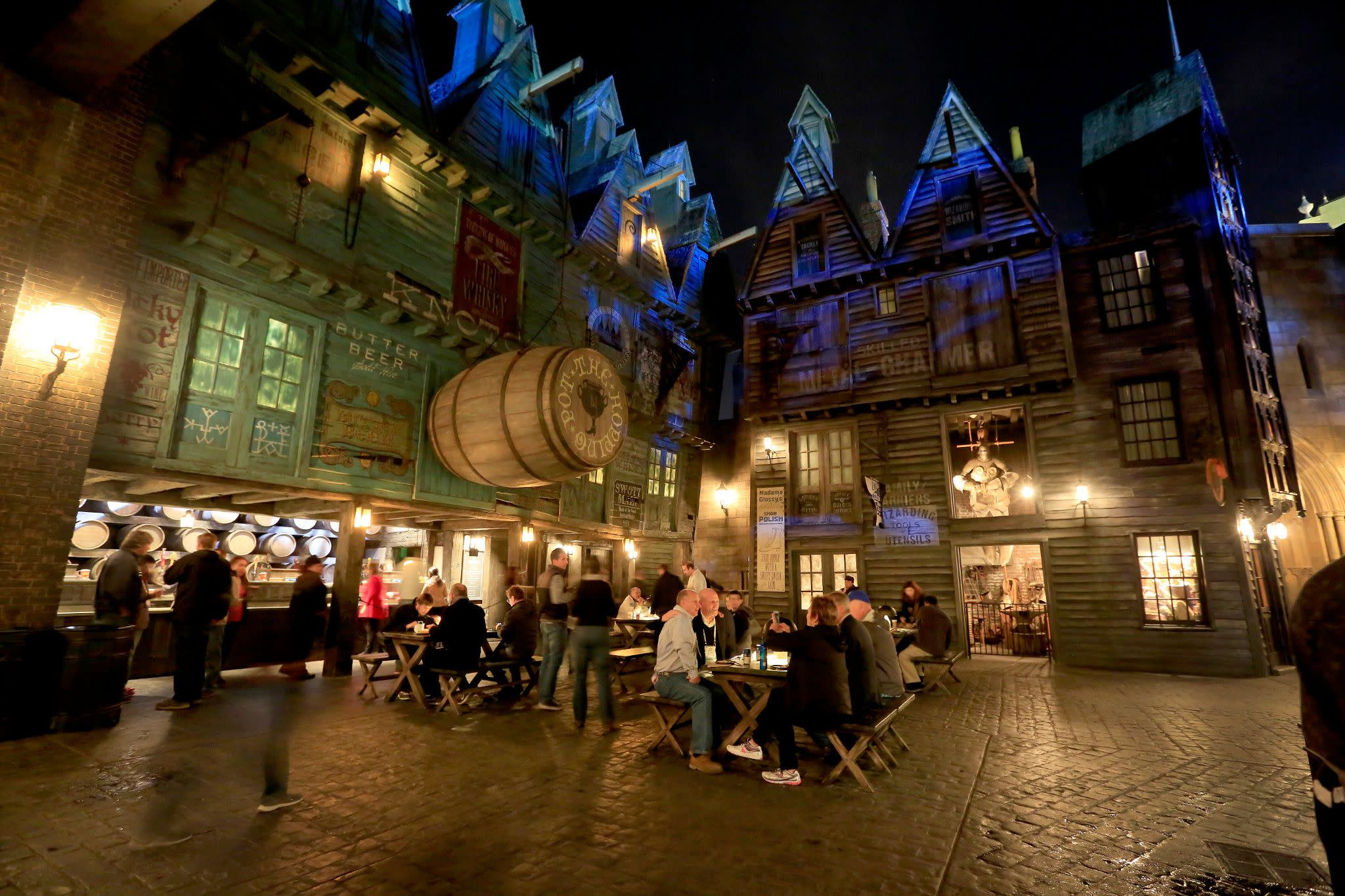 Diagon Alley at Universal Studios Florida in Orlando