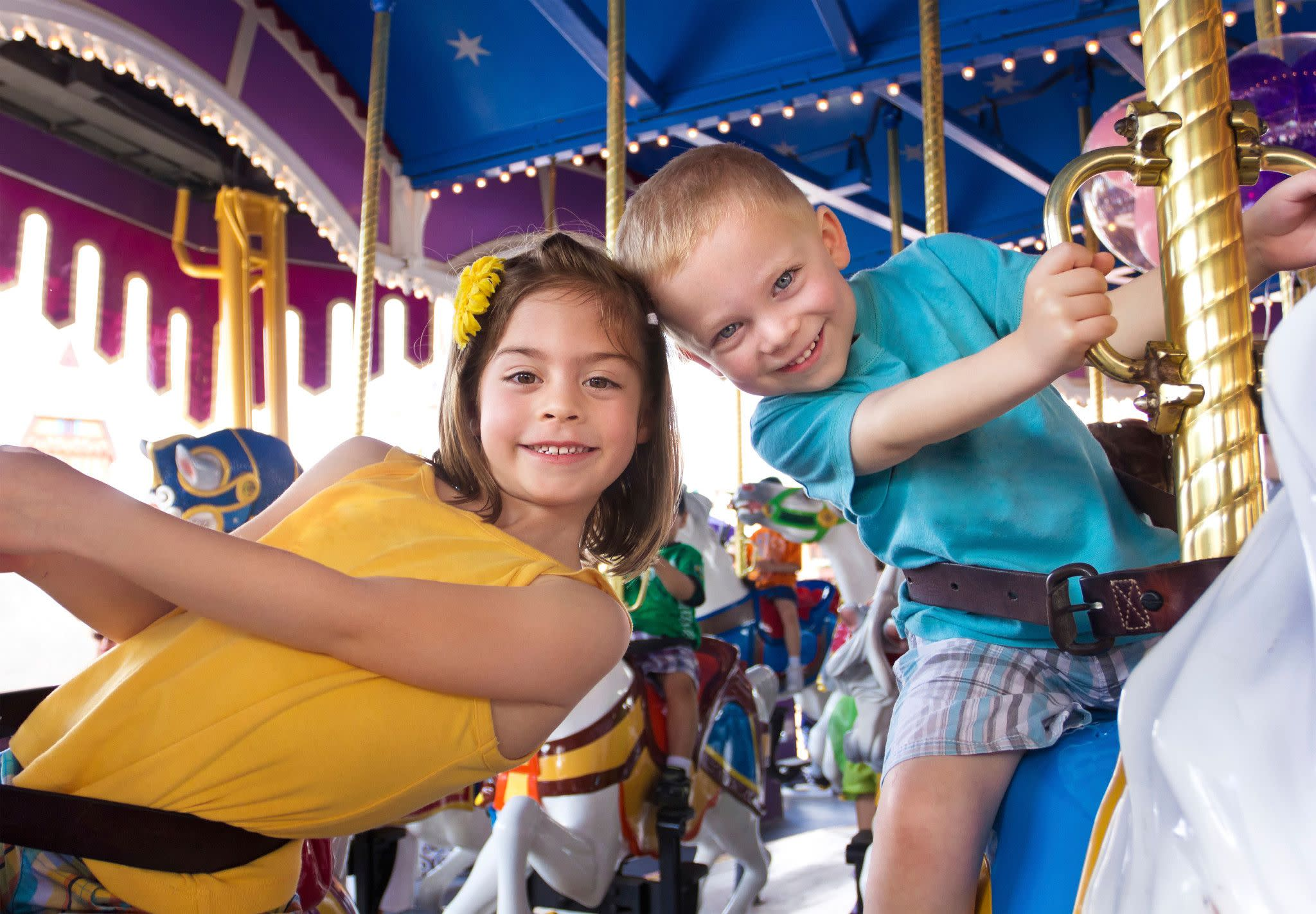 Grandparents Can Enjoy Shared Experiences With Their Grandkids at Orlando's Theme Parks