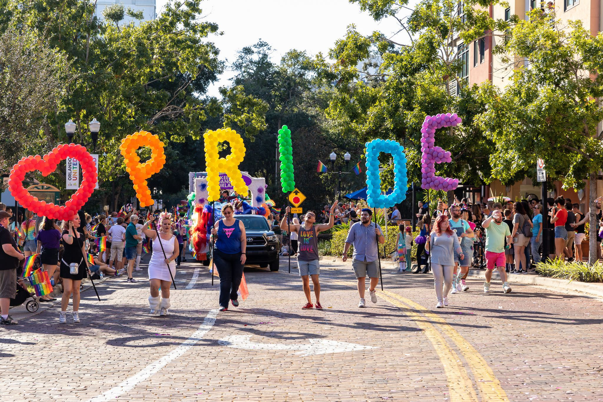 Come Out With Pride Festival Parade in Orlando