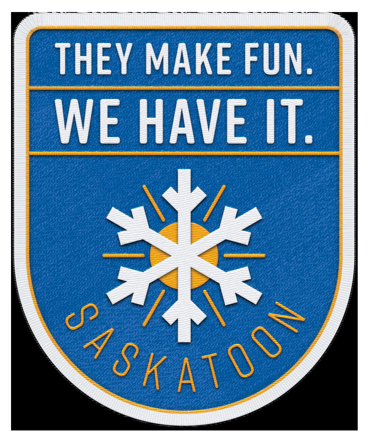 Winter Fun YXE Badge