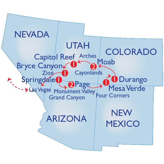 SA Map Grand Circle
