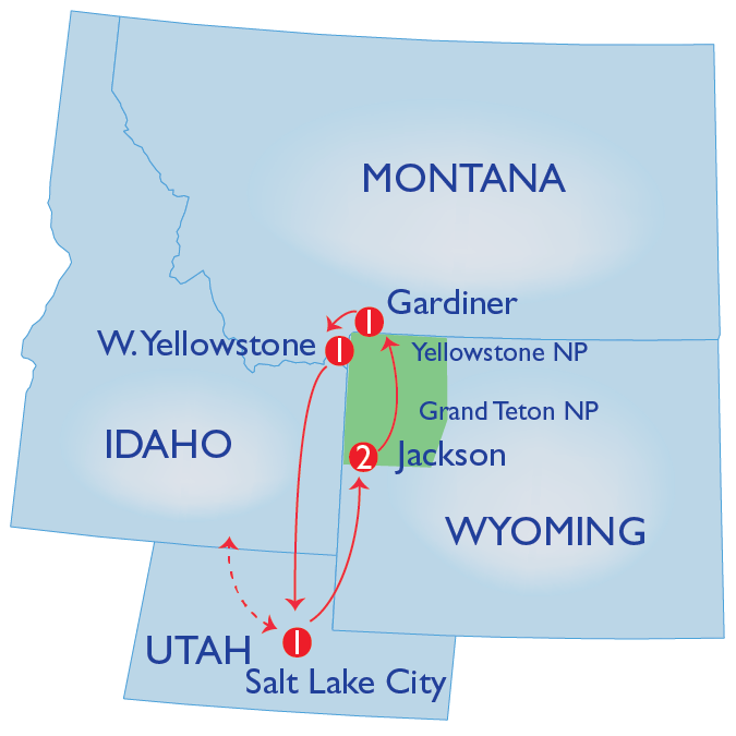 SA Map Grand Teton