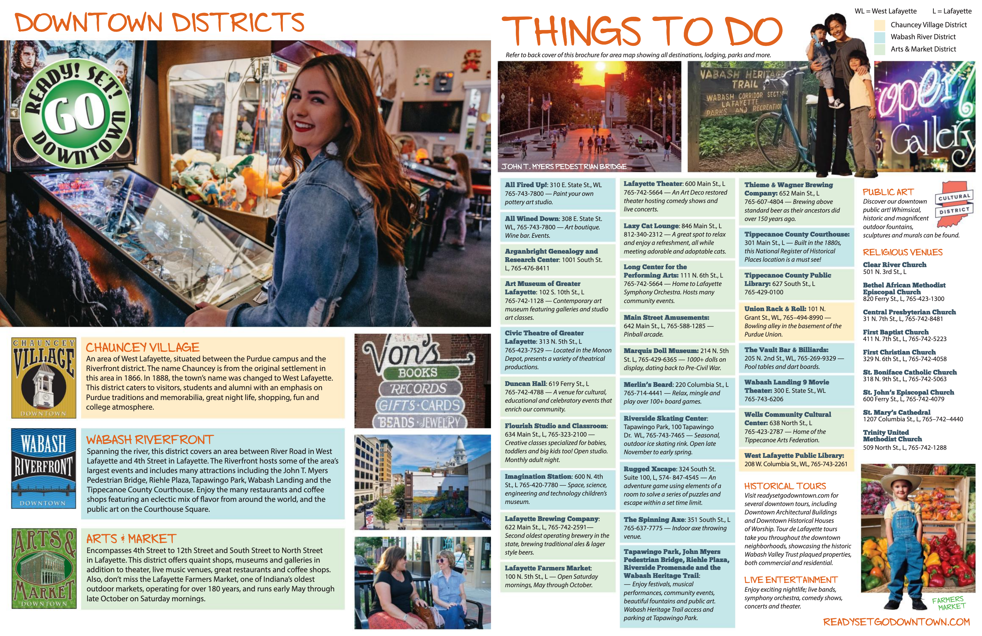 2021 Spring Downtown Guide