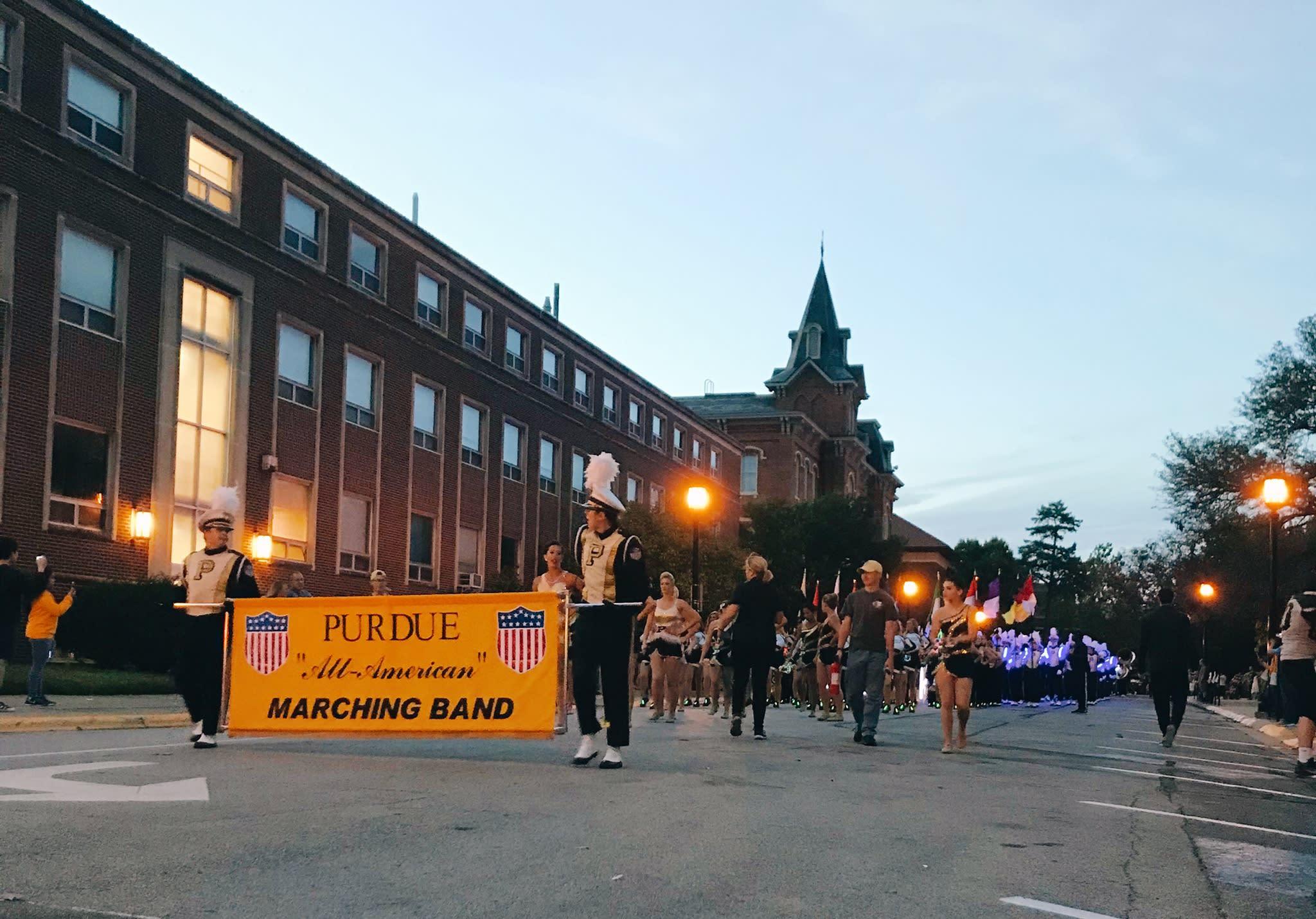 Purdue Homecoming Parade