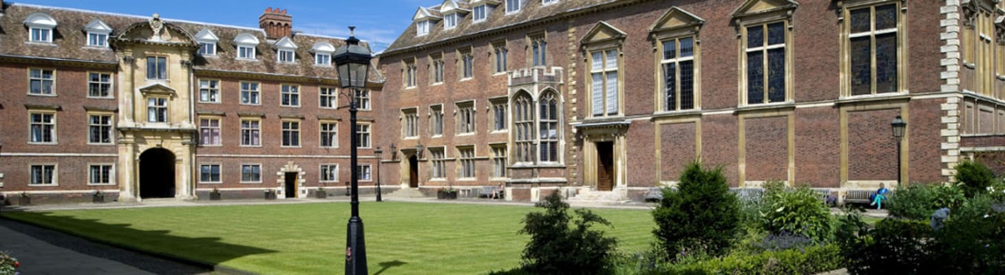 The Porters' Lodge takes you directly into Main Court, the centre of College life.