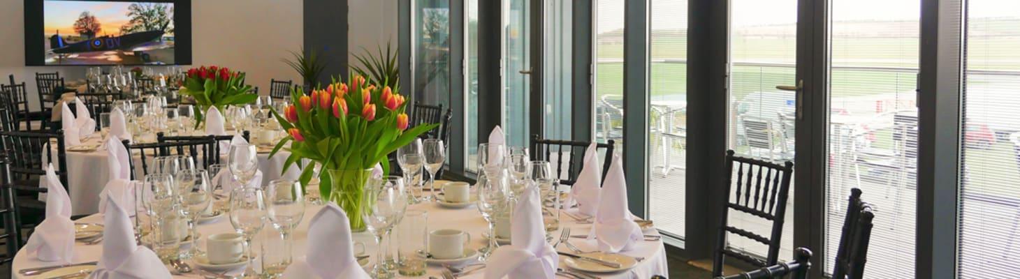 The Airside Suite at IWM Duxford
