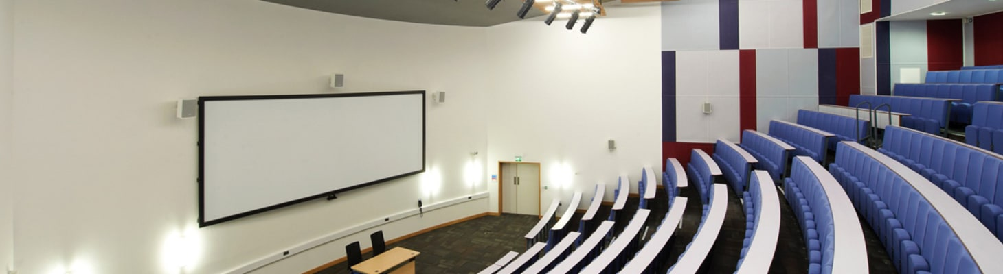 A Range of Large Lecture Theatres