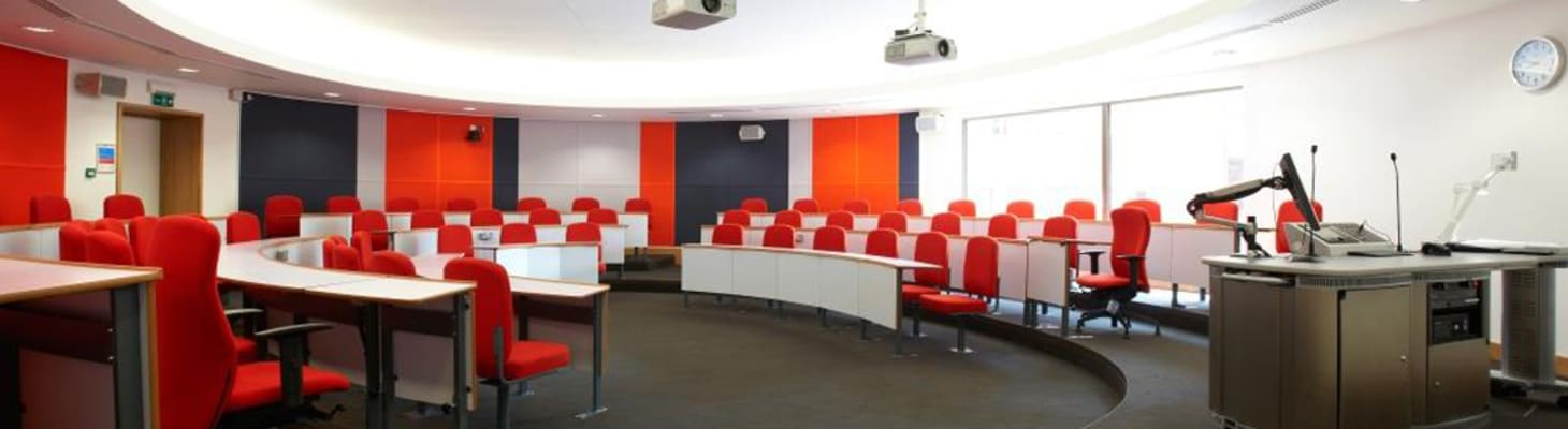 Harvard Style Lecture Room