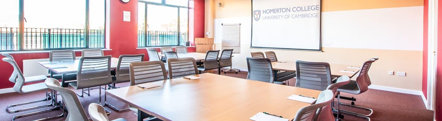 A Range of Versatile Meeting Rooms