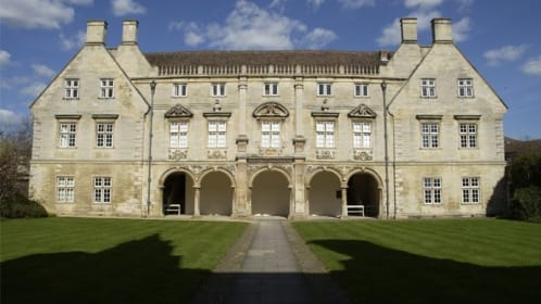 Pepys Cloisters in Second Court, ideal for pre-dinner drinks receptions