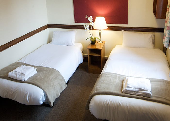 Located within Fisher Building, these traditional College rooms are spacious and come with their own living room area as well as tea and coffee making facilities and internet access