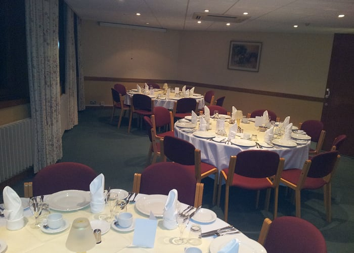 Located in a quiet corner of the College this room is an ideal venue for a small dinner party for up to 40 or a working meal