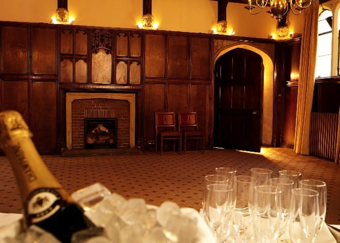 Situated in First Court the Old Music Room, which originally was a teaching room for the students, is the ideal venue for drinks, receptions and light finger buffets for up to 60 guests