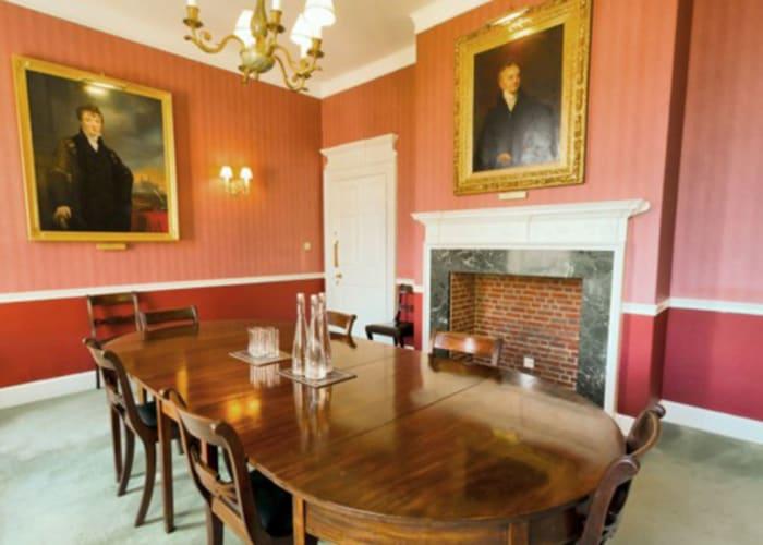 Fellows Breakfast Room - Meeting Room Set up