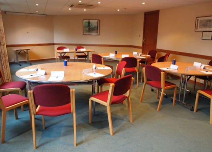The Garden Room, located in a quiet corner of the College is an ideal venue for a small dinner party or private meeting.