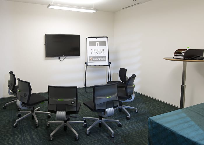 Situated in the Study Centre, this room is ideal as a video-conferencing suite, breakout room or an office space.