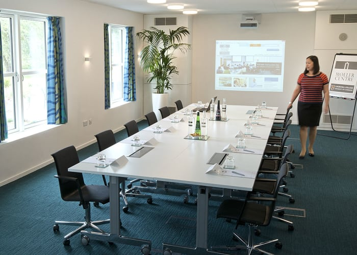 Situated in the Main Building, this new suite can be divided into two smaller meeting rooms for further flexibility.