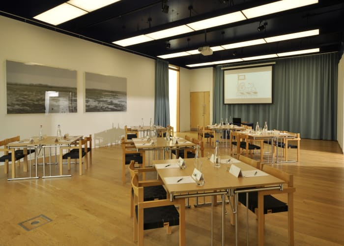 Located in the Music Centre, this light and spacious room provides a versatile space for lectures, group meetings and recitals. It is a popular breakout room for larger conferences and events.