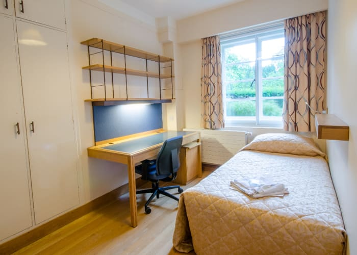 Tea and coffee making facilities, towels and toiletries. Rooms are serviced daily.  We have been awarded a 4* Campus Quality in Tourism Accreditation given by Visit England.