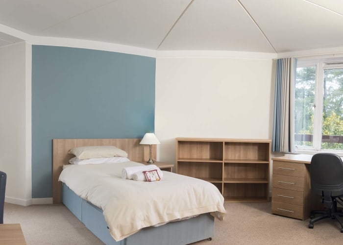 The College has 25 x 4 bed flats and 6 x 5 bed flats at our St Chad's Site, just off Grange Road.