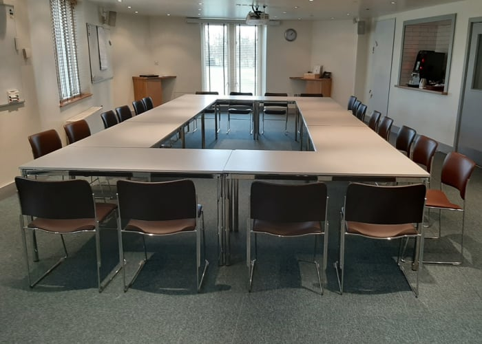The Coleridge Room is ideal for meetings and presentations, it has full black out capabilities, a ceiling-mounted data-projector and pull-down projection screen. With space to accommodate up to 60 people, the room is also fully equipped with internet connection points and an integral PA system.