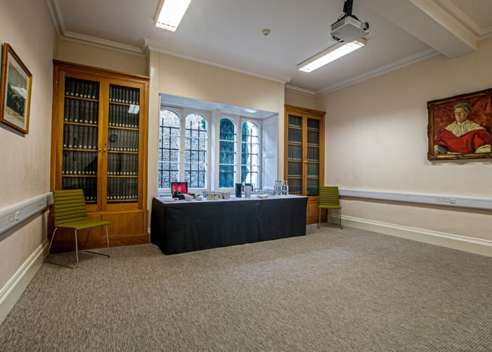 Ground floor room, located in New Court.