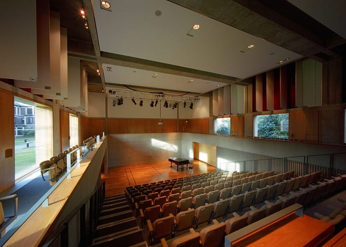 Our Auditorium seats up to 250 in a tiered theatre layout, with fully equipped AV and breakout space for refreshments.