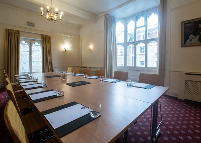 First floor meeting room, overlooking Trumpington Street.