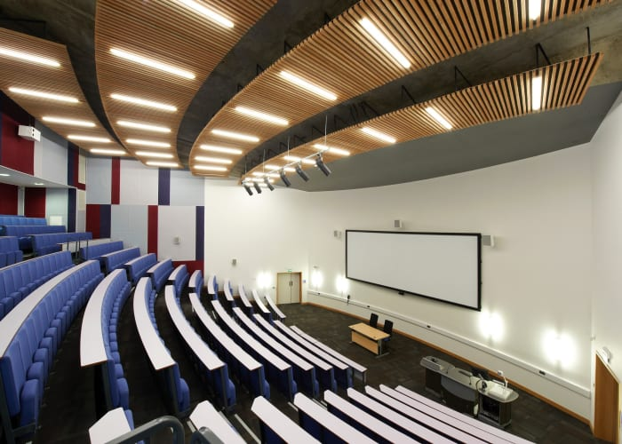 LAB 026 is a 400 seat lecture theatre located on the ground floor of the Lord Ashcroft Building
