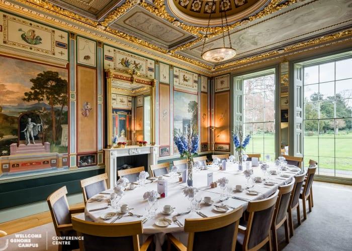 Pompeiian room dining