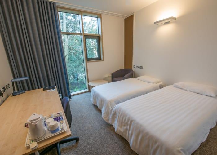 Stephen Hawking Building Twin en Suite Bedroom