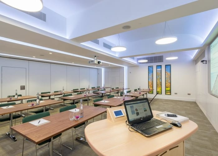 WYNG Gardens conference room can accommodate up to 24 delegates seated classroom during the University term dates.