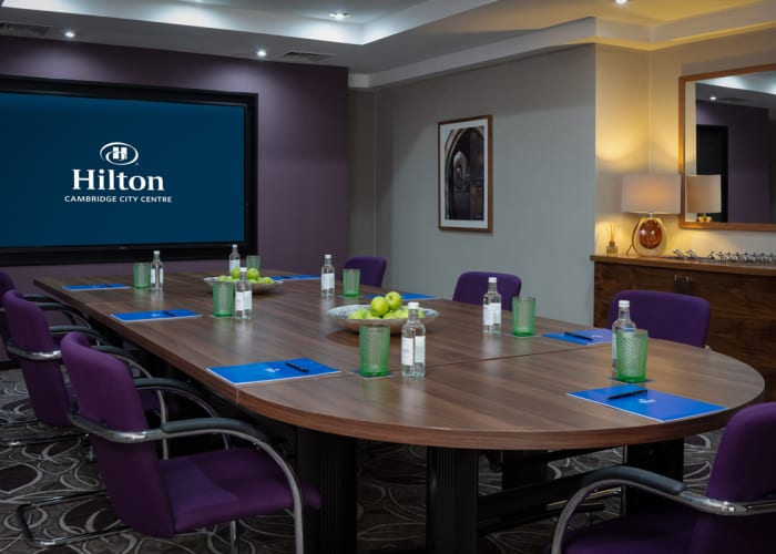 The smallest of the meeting rooms, the Wordsworth suite can accommodate up to 20 delegates in a variety of layouts.