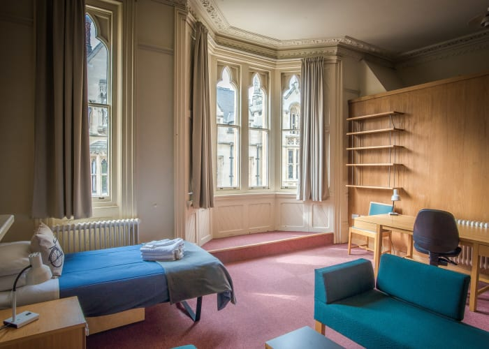 Kwee Court is located in the heart of the college, situated next to the college library and offering views over King's Parade.